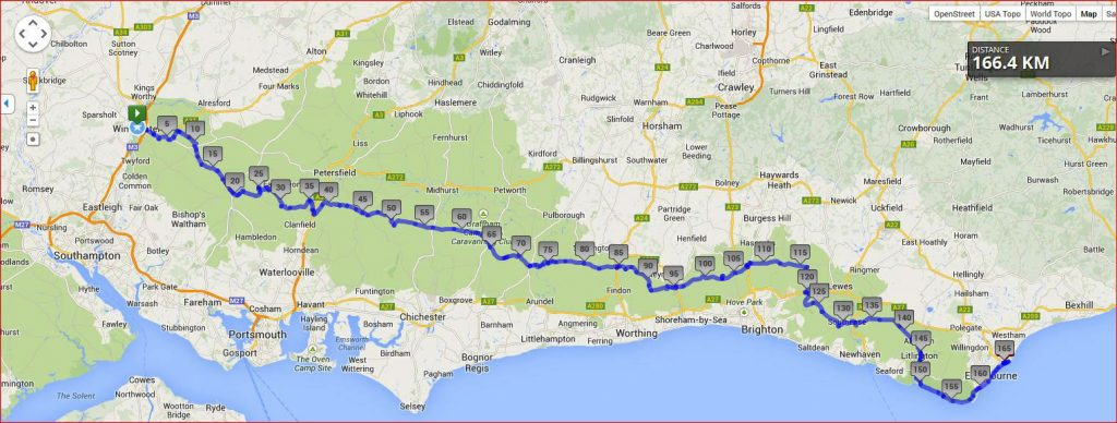 ultimate South Downs Way challenge