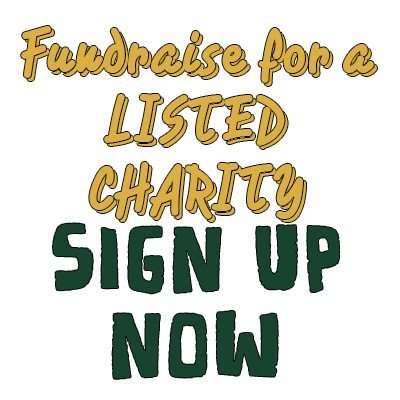 Fundraise for a charity of your choice!